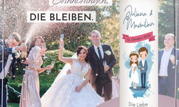 Hochzeitskerzen – diese Trends sind brandaktuell