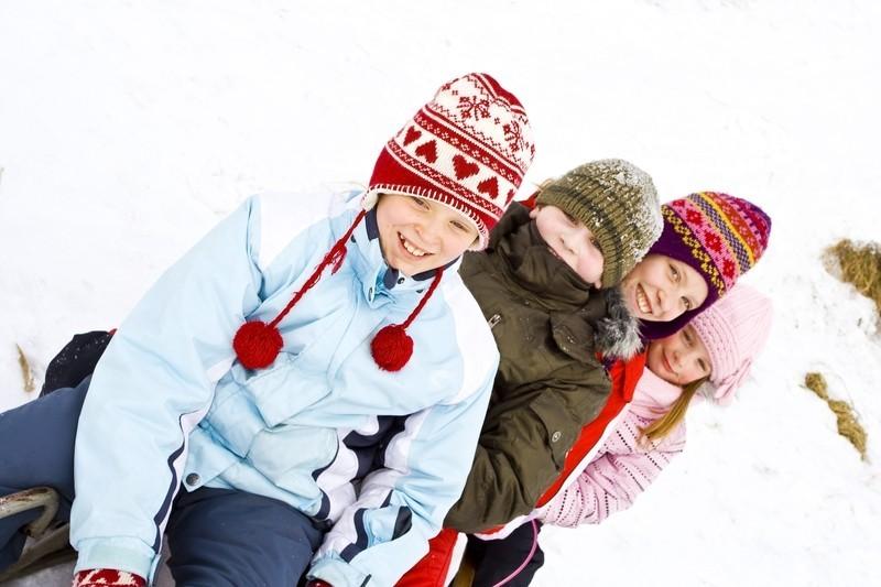 Ab in den Winterurlaub mit den Kids!