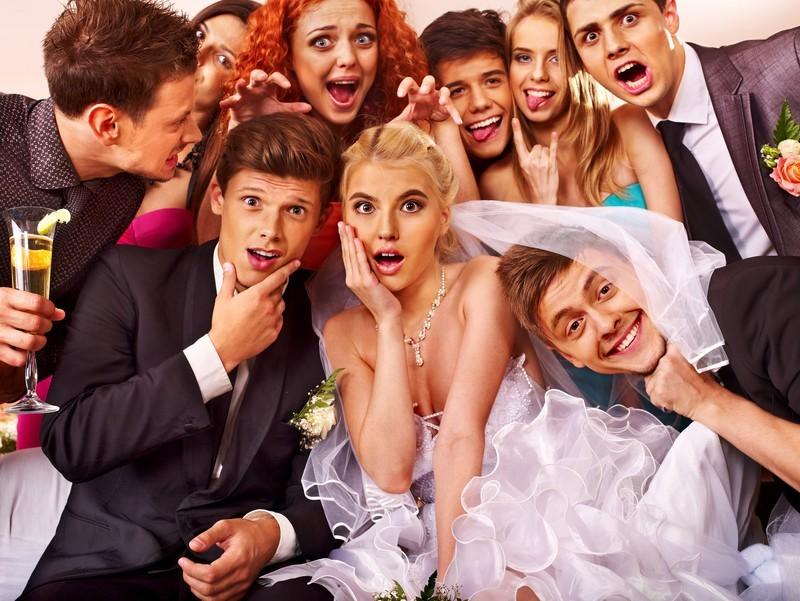 Keine Langeweile und kein Stress auf der Hochzeitsfeier