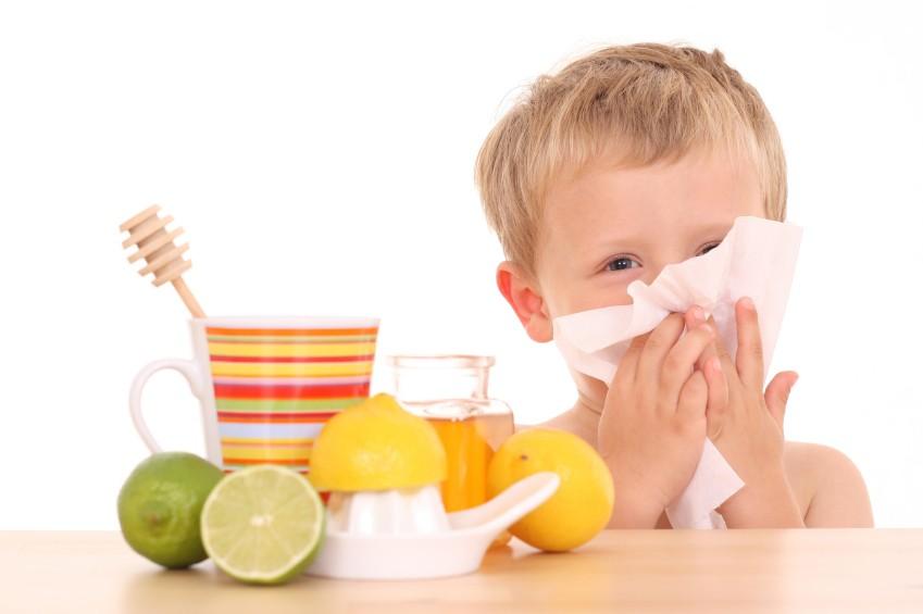 Kind Abwehrkräfte Erkältung