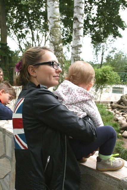 Janina mit ihrer Tochter