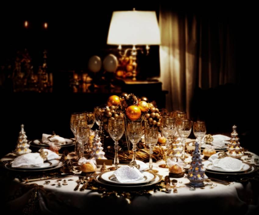 Deko f u00fcr die Weihnachtstafel   familista