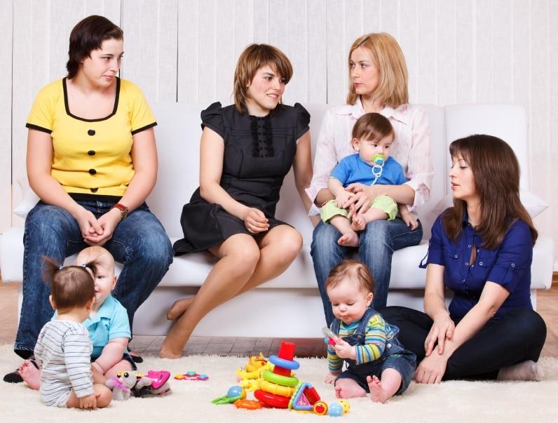 Soziale Kontakte nach dem ersten Kind