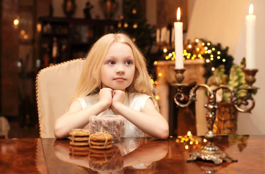 Kerzenlicht sorgt für eine zauberhafte Stimmung