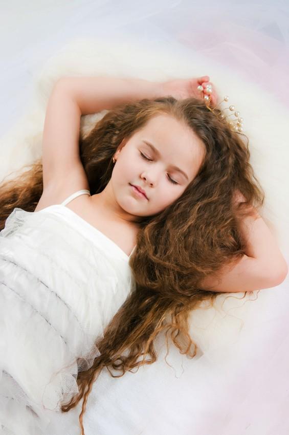 Ein Märchenzimmer erfüllt Mädchenträume.