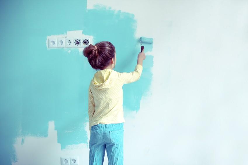 Irgendwann wollen Kinder ihr Zimmer selbst mitgestalten.