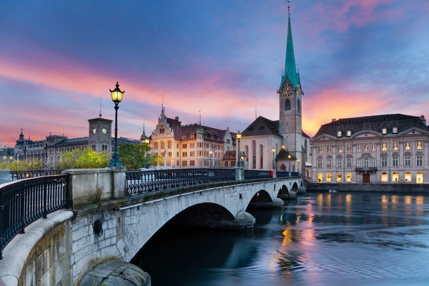 Zürich Brücke