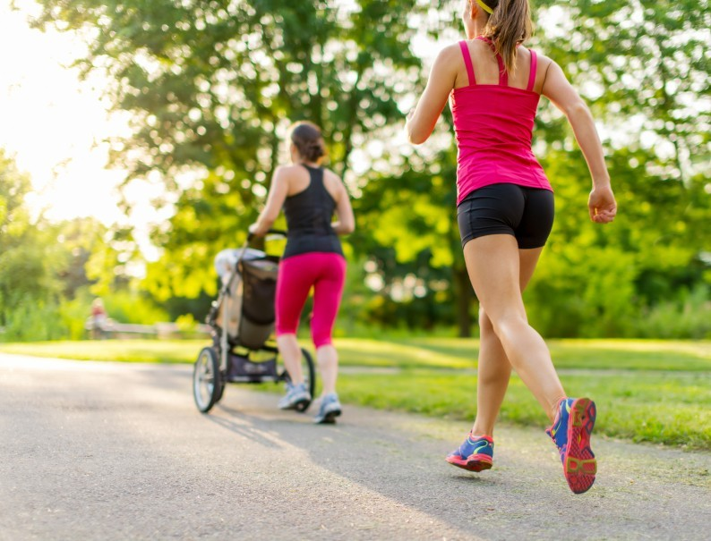 Nach der Schwangerschaft: Lauf dich schlank