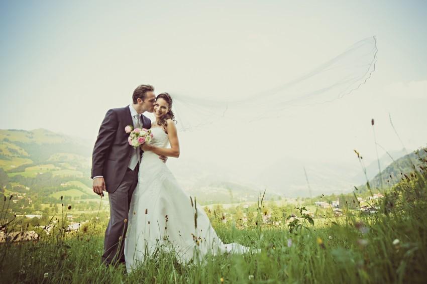 Um im Hotel Kitzhof einen unvergesslichen Hochzeitstag zu feiern, müsst ihr keine Stars sein - ihr könnt euch aber wie welche fühlen!