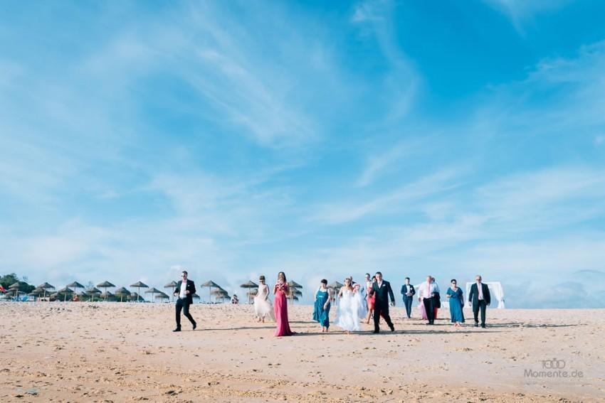 Heiraten am Strand: In Portugal ist das möglich.