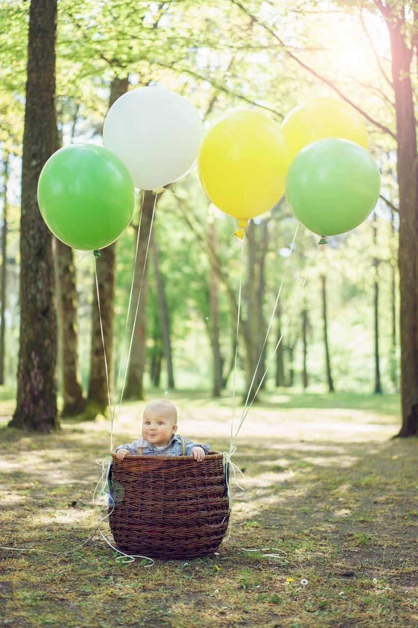 Babyfoto Ballon