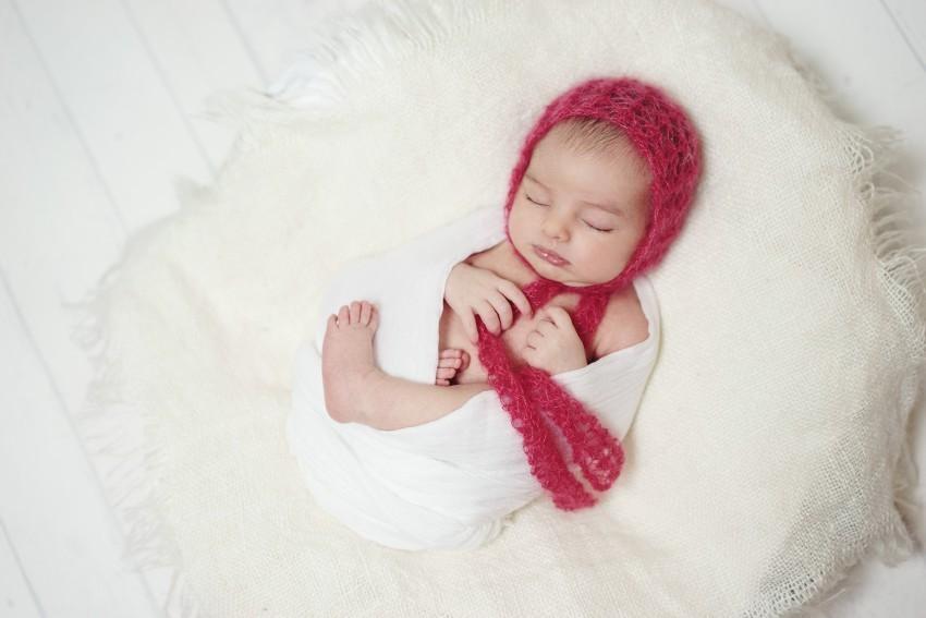 Babyfotos Muetze