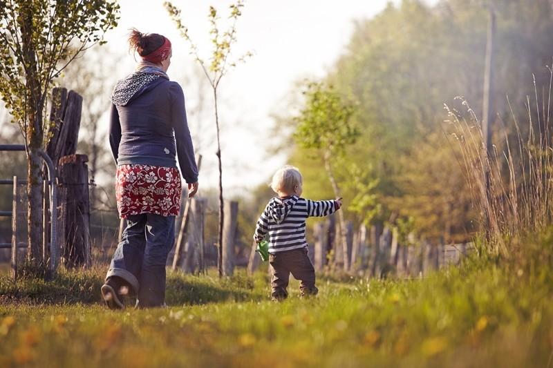 WWOOFEN – Selbstversorger Urlaub mit Kindern