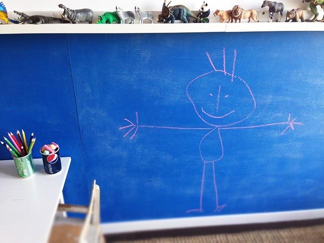 Diy f rs kinderzimmer 4 ideen zum nachmachen - Tafelfarbe kinderzimmer ...