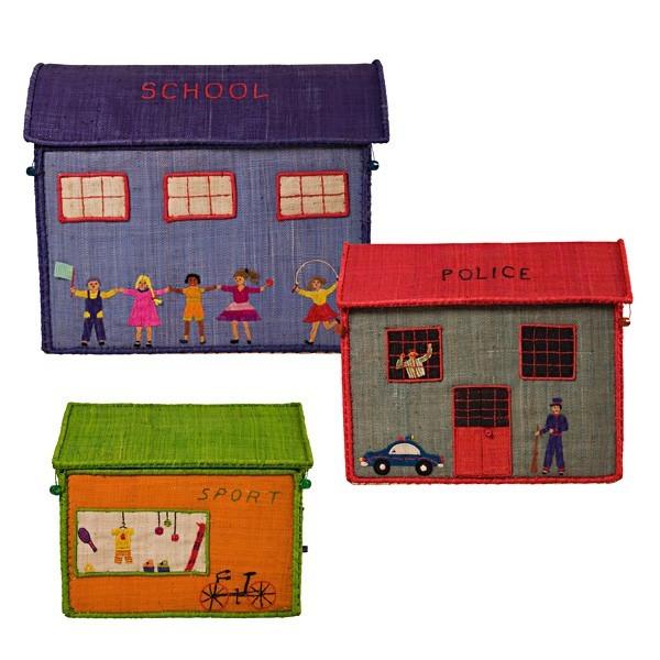 Bast Spielzeugbox