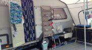 Camping Jesolo Vorzelt Zeltboden Outdoor Küche