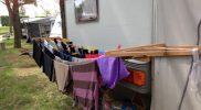 Camping Jesolo Wäscheleine DIY Camping anfänger