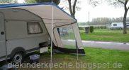 Camping Kip Wohnwagen Vorzelt