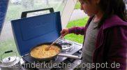 Camping Maggi Asia Nudeln kochen Campingrezepte