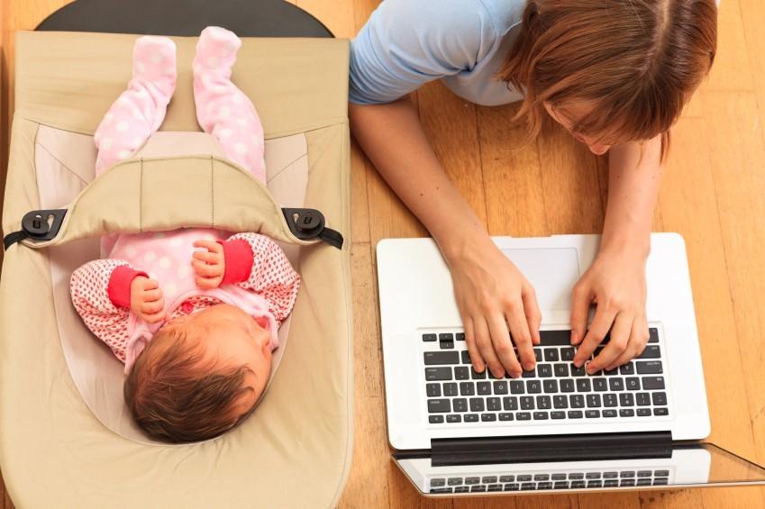 Mutter Baby Studium