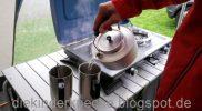 Outdoor Küche Kaffeekochen Camping Waging