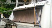 Wohnwagen DIY Fensterplane