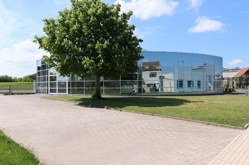 Außenasicht des Firmengebäudes von greenstories