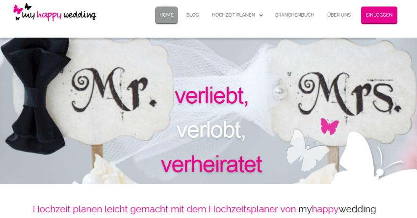 myhappywedding-website