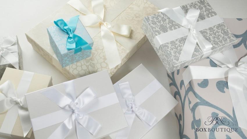 Elegant & chic: Wie das Brautklied, so die Box