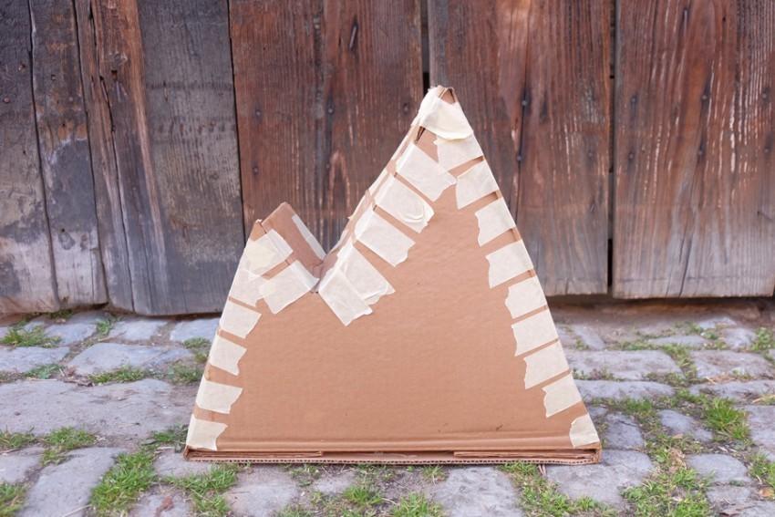 Berg Basteln Einfach