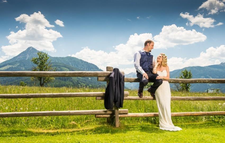 Hochzeit mit Naturkulisse: Was will man mehr?