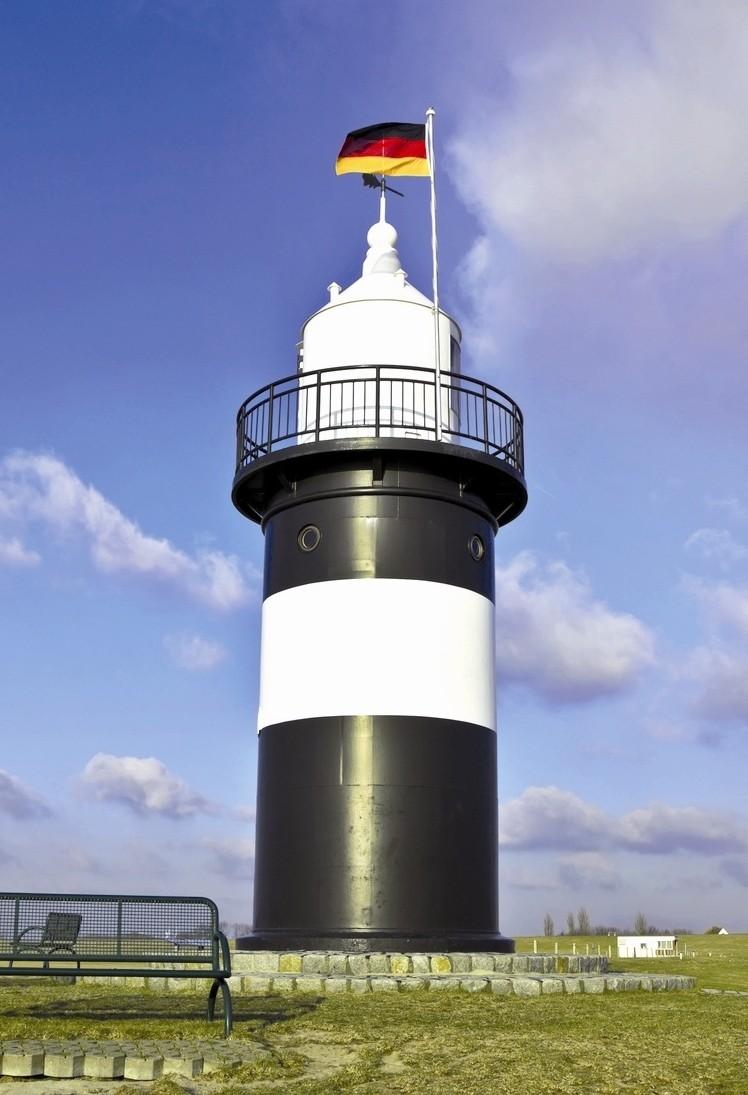 Leuchtturm an der Nordsee.