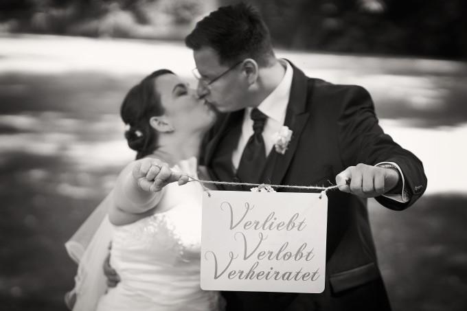 Es ist vollbracht: Sandra und Jan sind verheiratet!