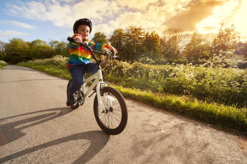 Radfahren mit den Kleinen: Worauf achten?