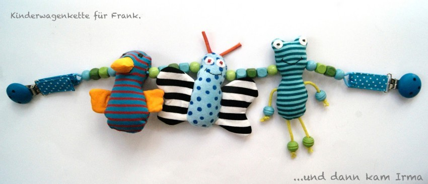 Kinderwagenkette mit Tieren