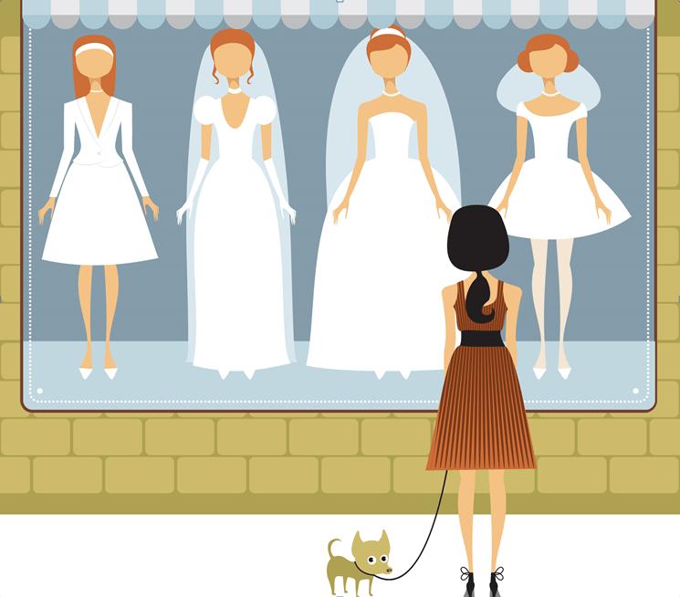 Brautkleid-Talk: Mit der Lizenz zum Schmeicheln.