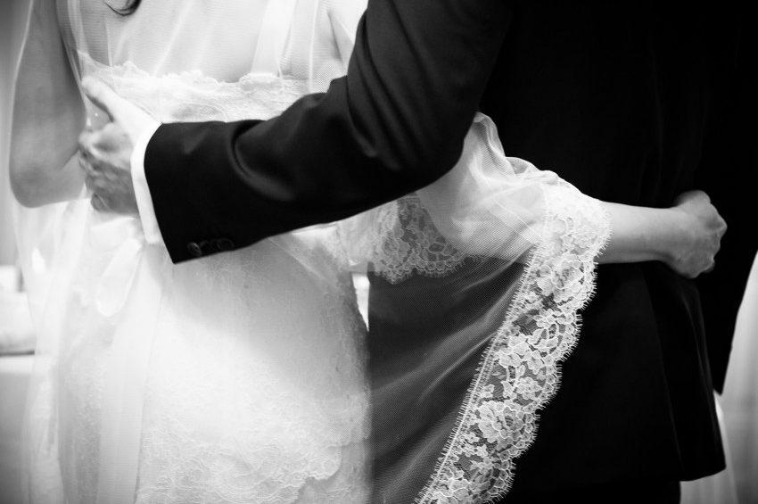 Brautpaar Vintage-Hochzeit