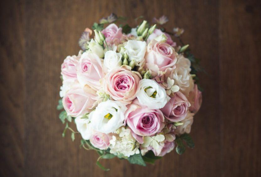 Brautstrauß-Hochzeit nicht in weiß