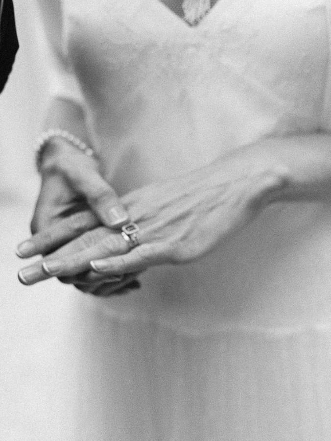 Braut Hand Ehering