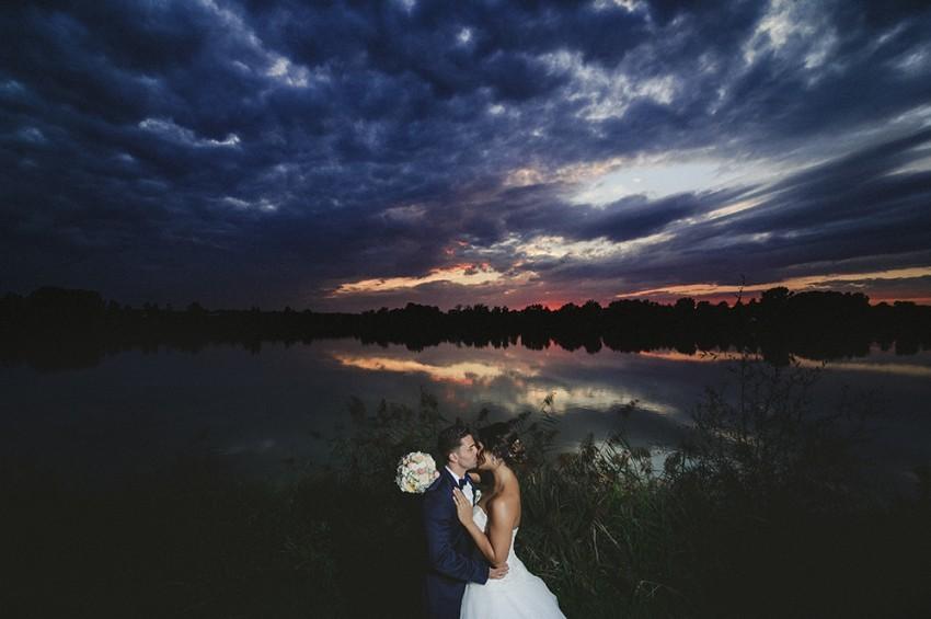 Hochzeitsinspiration-Brautpaarshooting am See