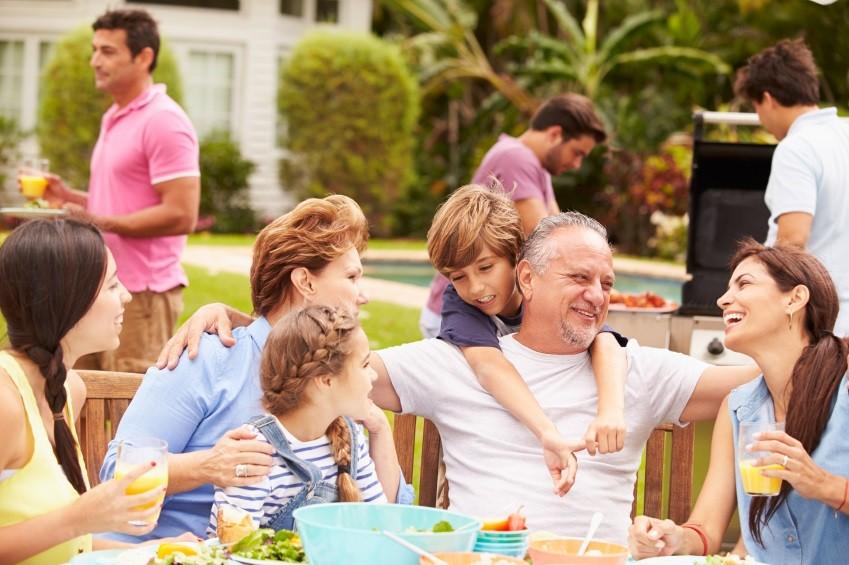 Party time mit der ganzen Familie – so haben sowohl Gastgeber als auch Gäste ihren Spaß