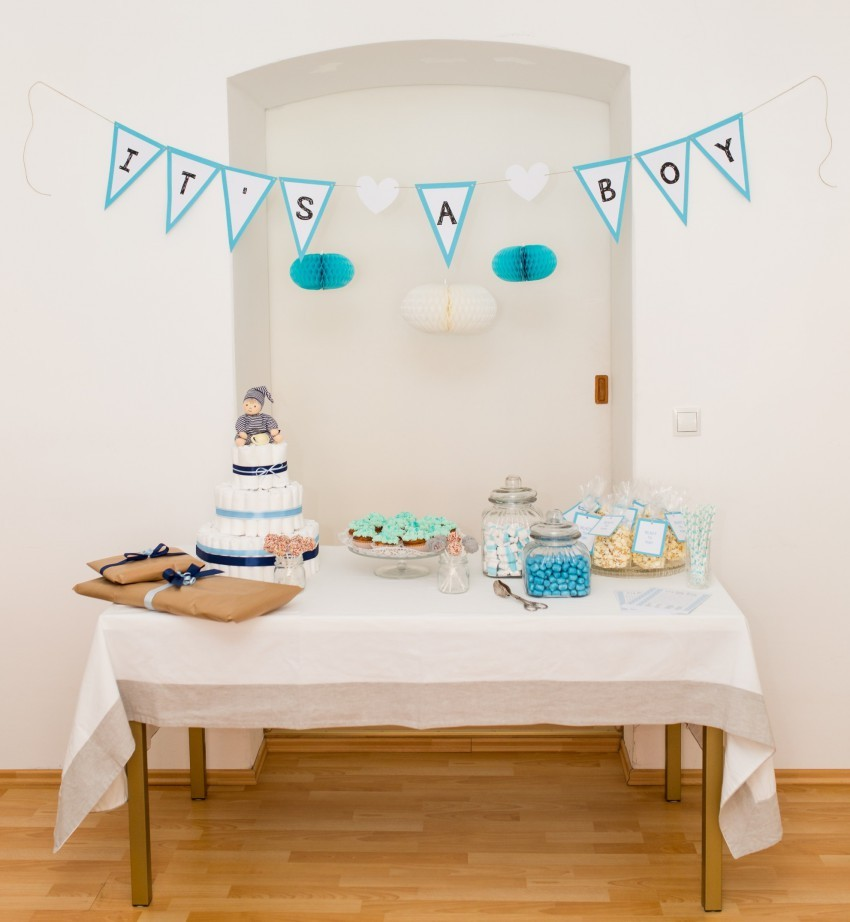 Baby shower so wird eure baby party ein voller erfolg for Baby deko