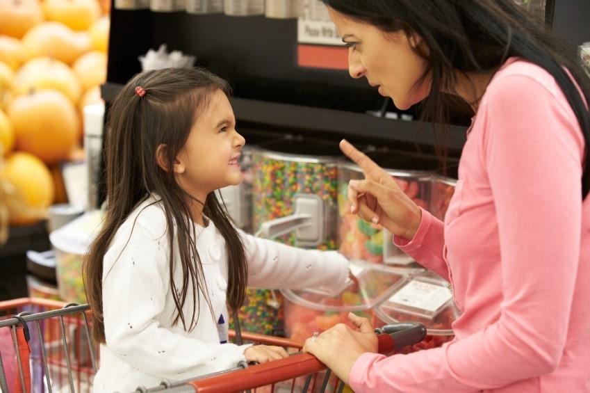 Wutanfall im Supermarkt
