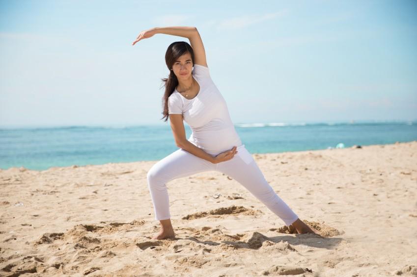 Yoga für Mamas: So praktiziert ihr es richtig
