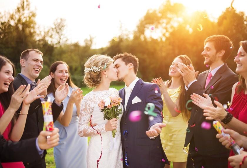Professionell geplante Hochzeit