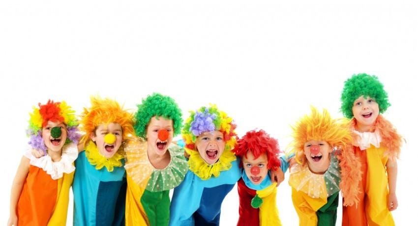 Clown-Kostüme für Kinder