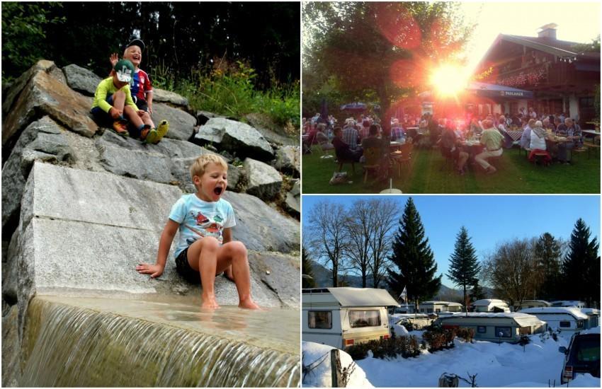 Ob im Sommer oder im Winter: Zelten ist für Kinder immer ein Erlebnis!
