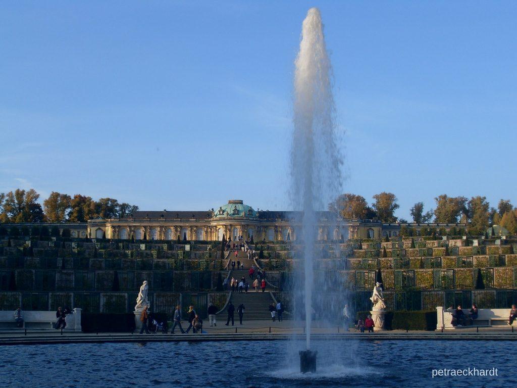 Schloss Sanssouci - Petra Eckhardt